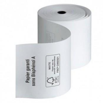Rouleaux papier caisse 80X80